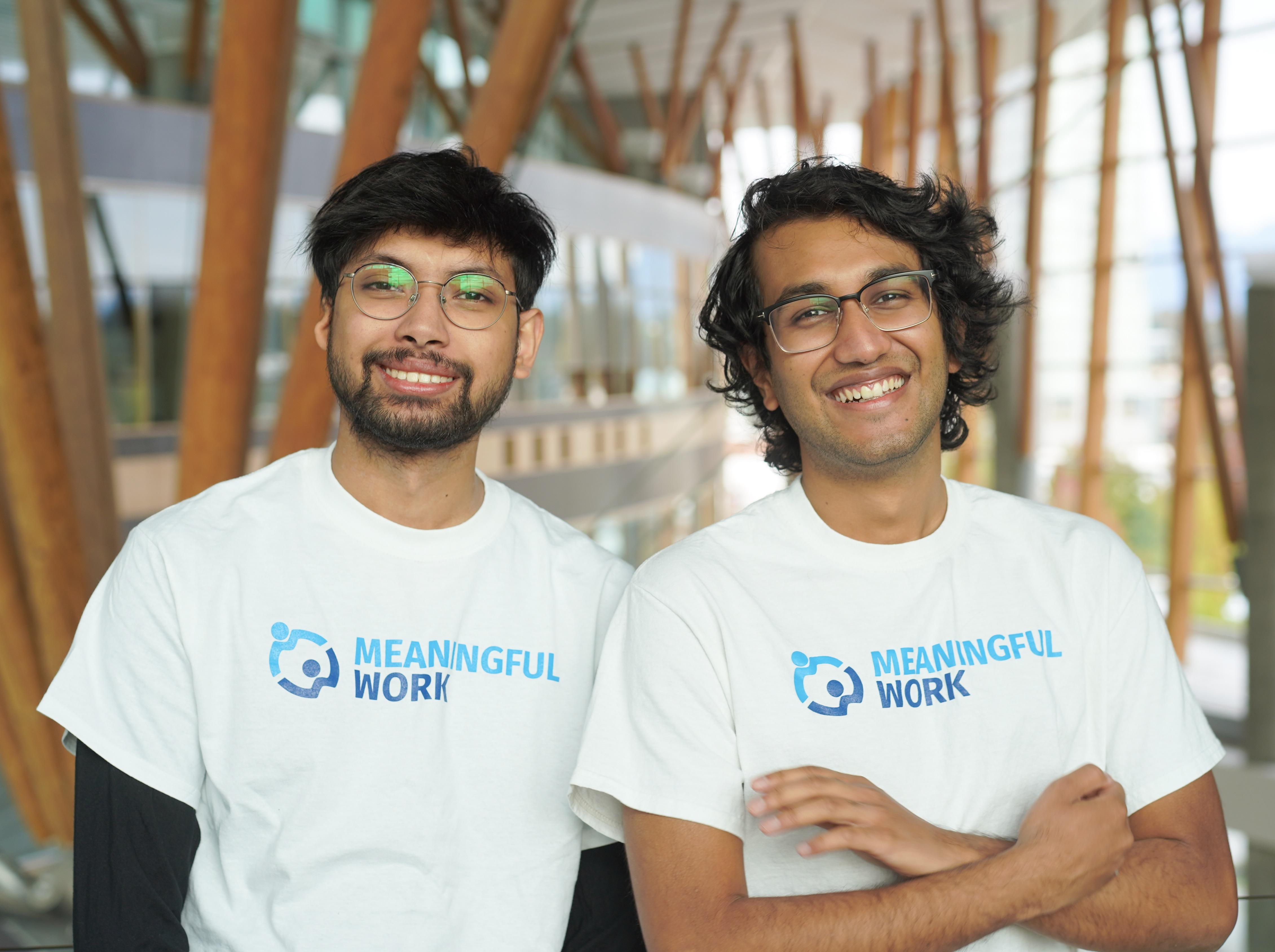 Rafid and Raaj
